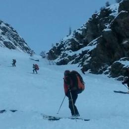 Ritrovato nella notte dai soccorritori  È un alpinista 48enne di Nembro