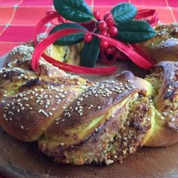 Kringel, una ghirlanda salata per augurarvi Buon Natale
