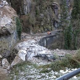 Val Serina, la strada resta chiusa  Berbenno, si riapre la provinciale