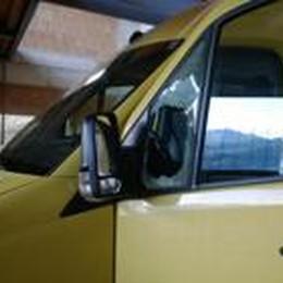 Ladri tentano di rubare  lo scuolabus di Bedulita