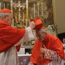 Sotto il Monte, Capovilla cardinale  Maxischermi e diretta su BergamoTv