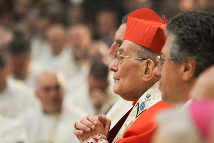 Il cardinale Loris Capovilla