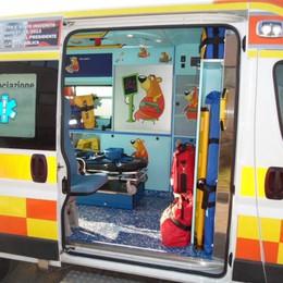 Bimbi in ambulanza senza paura  La Croce Verde vara «SoccOrso»