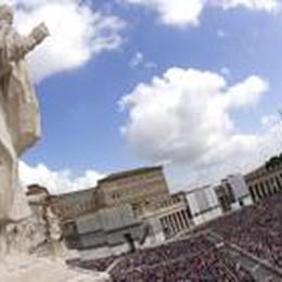 Canonizzazione mediatica:  34 telecamere su San Pietro