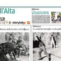 StoryLab, ecco le foto storiche  Raccolte a Vall'Alta da L'Eco café