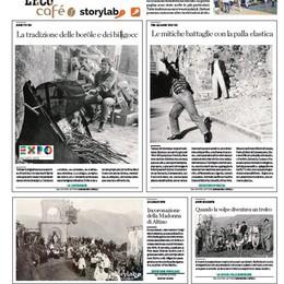 StoryLab, ecco le foto storiche  Raccolte da L'Eco café a Vall'Alta