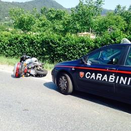 Luzzana, scontro auto-moto  Muore 65enne di Casazza