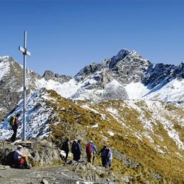 Nuovo incidente in montagna    Passo del Tartano, cade escursionista