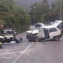Frontale tra Panda a Viadanica  Due feriti, un 41enne è grave
