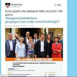 Gori, 100 giorni in un tweet  «Ecco cosa abbiamo fatto»