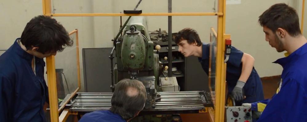 Studenti, passione e tecnologia Un video racconta l'Istituto Pesenti