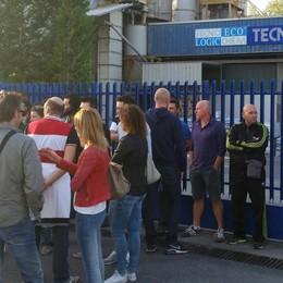 Tecnochem di Barzana in sciopero Stipendi ritardati e un futuro incerto