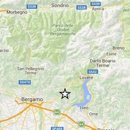 Scossa di terremoto a Foresto Sparso Magnitudo 2.1, voi l'avete sentita?