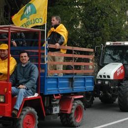 Ringraziamento, sfilano i trattori Visite al Casinò di San Pellegrino