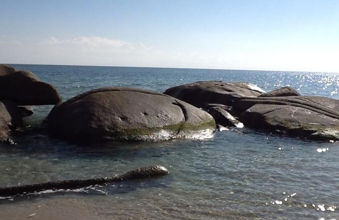 Costa Rei: anaconda di pietra