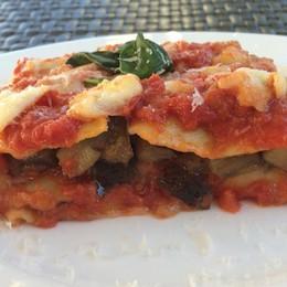 Melanzane e fiordilatte per lasagne che sanno d'estate