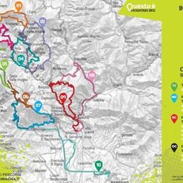 Mtb, ecco altri 10 percorsi «tascabili» Su due ruote in Val Imagna - Le mappe