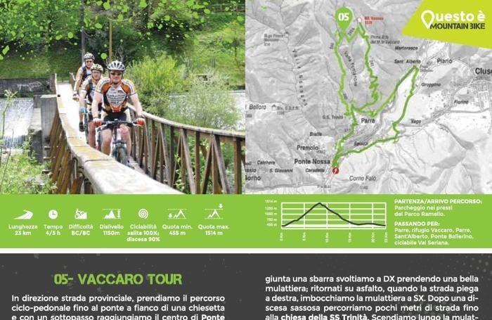 Alcuni esempi da «10 percorsi per mountain bike in Val Seriana e Val di Scalve»