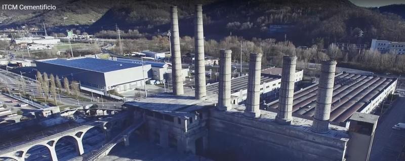 Alzano volando sull ex cementificio il video che incanta - Alzano lombardo piscina ...