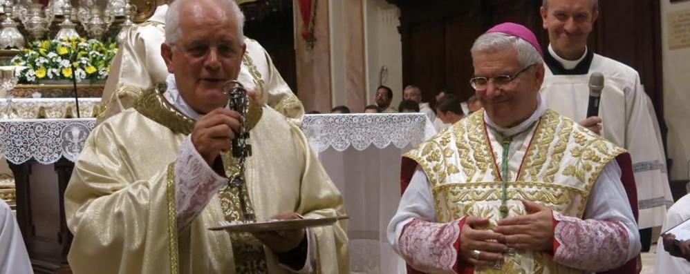 Monsignor Pezzoli in Santa Caterina «La parrocchia diventa la mia famiglia»
