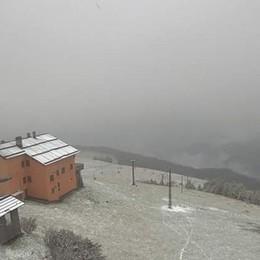 Prima neve in montagna - video Il freddo è ufficialmente arrivato