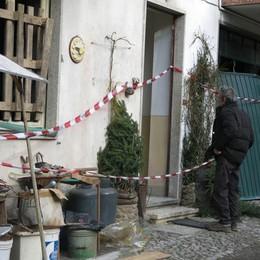 Schilpario, scoppia la bombola del gas Ferito un anziano, pompieri in azione