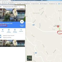 Volete andare a Cenate Sopra?  Per Google Maps si chiama «Casco»