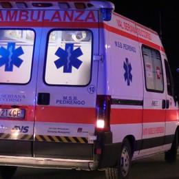 Scontro frontale  a Natale Casnigo, 19enne in coma