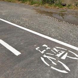 In bicicletta da Seriate a Bergamo Nel 2017 via ai lavori della pista