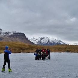 Che meraviglia il lago di Cardeto A 1.700 metri si pattina - Foto/video