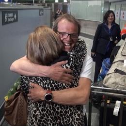Moro, l'abbraccio con la mamma - Video «Bergamaschi, questa vittoria è per voi»