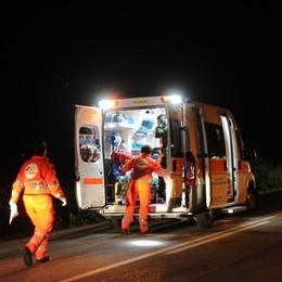 Scontro nella notte con un camion Muore ragazzo  29enne di Bergamo