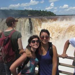 In viaggio da Bariano al Sudamerica Katia e Cecilia, da sole:«Senza paura»