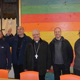 Il vescovo in Valle di Scalve  per un messaggio sulla carità