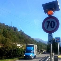Guard rail da rivedere in Val Gandino  per rendere più sicura la «strada killer»