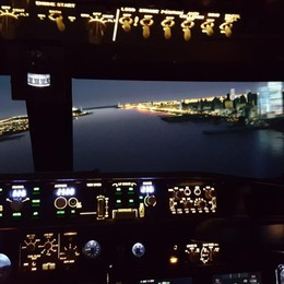 In volo su New York Pilota tu un Boeing 737