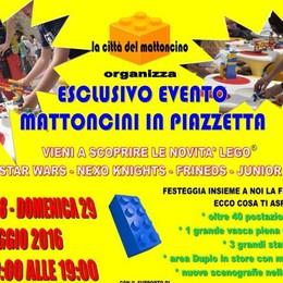 Tornano «Mattoncini in piazzetta» I Lego impazzano in centro a Bergamo