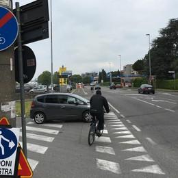 In bici da Seriate a Bergamo - video Ma non chiamiamola pista ciclabile