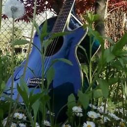 L'accorato appello corre su Facebook: vorrei ritrovare la chitarra blu di mio padre