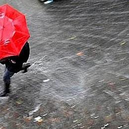 Non dimenticate l'ombrello Ancora (forti) temporali in vista