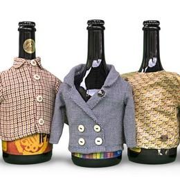 Bergamo, quando la birra si fa fashion Individual «veste» le bottiglie della Elav