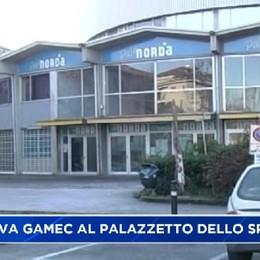 La nuova Gamec nell'area del palazzetto dello Sport