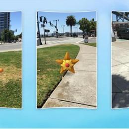 Caccia reale a Pokemon virtuali Il nuovo gioco impazza negli Usa