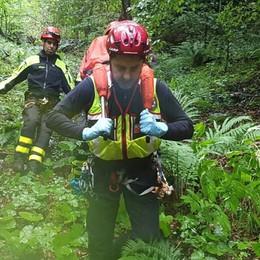 Colere, scivola per 80 metri nel bosco Caduta fatale per una donna di Valbrembo