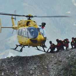 Incidenti in montagna, raffica di soccorsi Tra i feriti anche un bambino di 10 anni