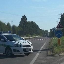 Villa di Serio, carambola fra auto Coinvolte 6 persone e traffico in tilt
