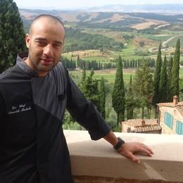Il cuoco di Martinengo seduce la Toscana