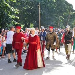 Malpaga torna ai tempi di Colleoni Foto e video della Festa dei Castelli
