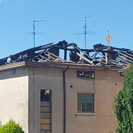 Palazzina inagibile dopo il rogo A Lurano due famiglie fuori casa