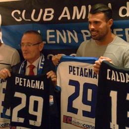 L'Atalanta con i suoi tifosi in Valle Imagna Petagna: «Col Cagliari sarà dura»
